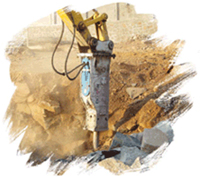 Hydraulic demolition equipment in Korea | Dowin International Corp. | DW G Series